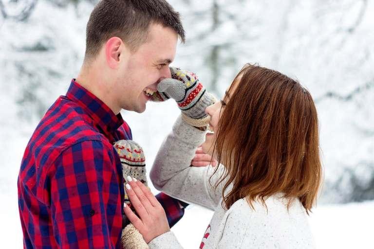 homme-femme-neige