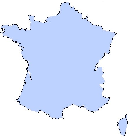 carte de France par département
